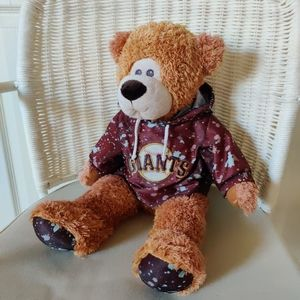 MLB SF Giants teddy bear with hoodie